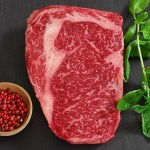wagyu fleisch rib eye steak